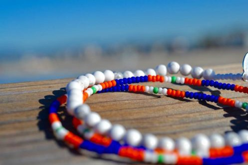 Beads On A Beach Deck