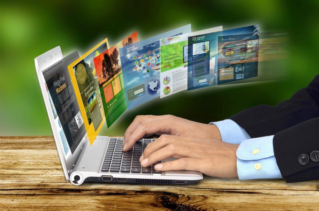 Internet Concept on Laptop (2)