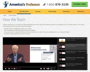 Americas Profession Screenshot