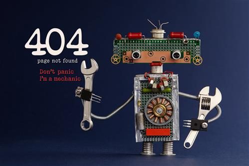 404 Error Robot  when User Experience is Bad