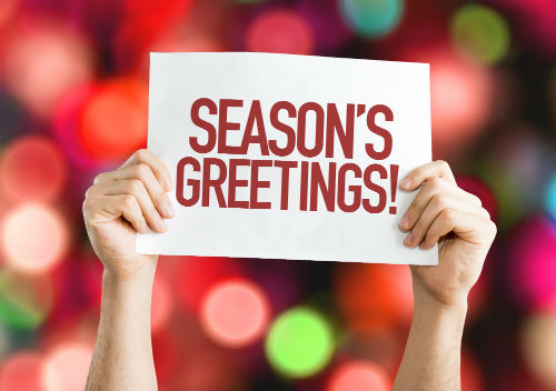 Season's Greetings and Holiday Marketing