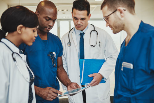 Doctors Talking About Digital Healthcare Marketing