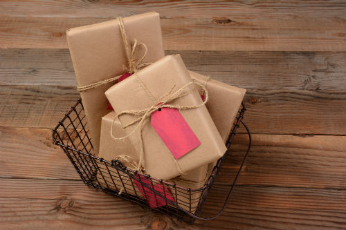 show customer appreciation with a gift basket
