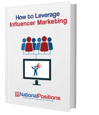 Influencer Marketing Ebook National Positions